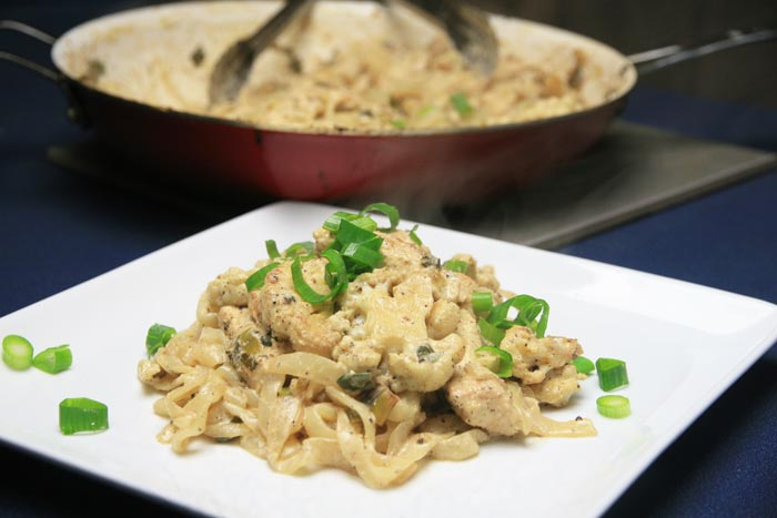 Diabetic pasta options 3 delicious recipes creamy mustard chicken noodles konjac noodle recipe diabetes forumfinder Images