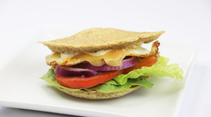 Mexican egg burger | DMP