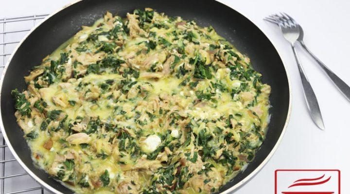 Cheesy Tuna Spinach | DMP
