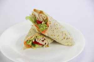 Low Carb Turkey Salad Wrap | DMP