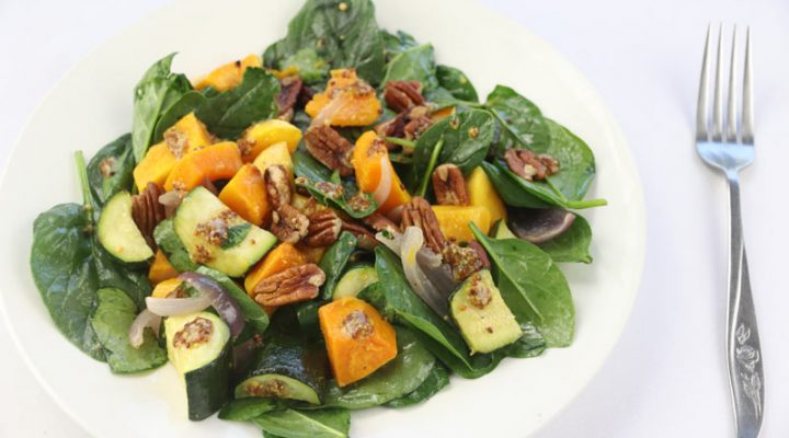 Roast Veggie Toss with Pecans | DMP