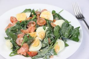 Smoked Salmon Egg Salad | DMP