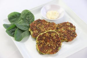 Zucchini Cheese Fritters | DMP