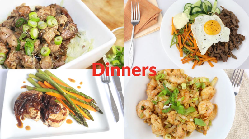 Featured Diabetic Dinners: Week of 5-7-18