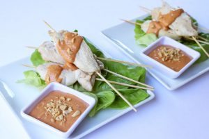 Satay Chicken Skewers | ©DMP