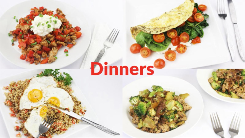 Featured Diabetic Dinners - week 4-9-18