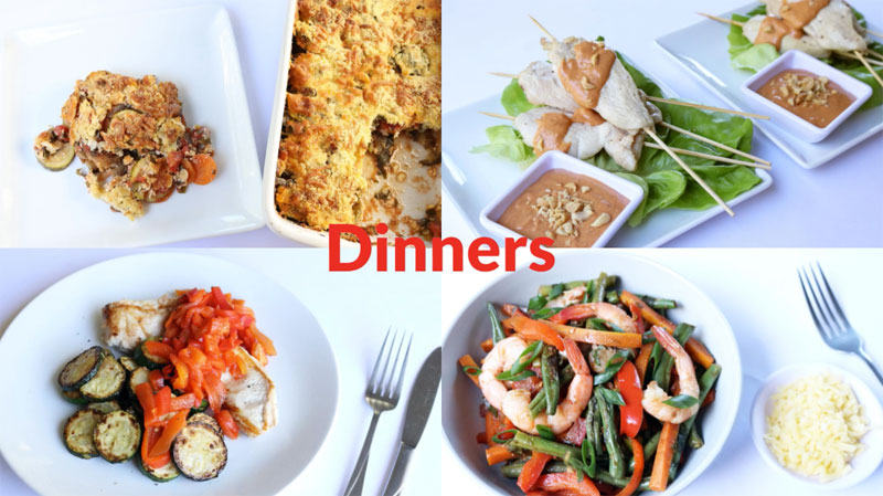 Featured Diabetic Dinners: Week of 6-1-20