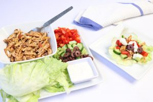 Spicy Cajun Chicken Lettuce Bites | ©DMP