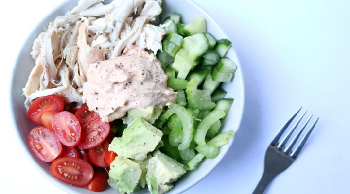 5-Minute Chicken Shawarma Bowl | ©DMP