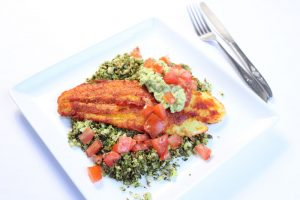 Turmeric Crusted Fish | ©DMP