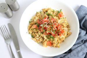 Cheesy Scrambled Eggs | ©DMP