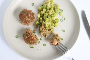Mini Meatloaf with Butter Braised Celery | ©DMP